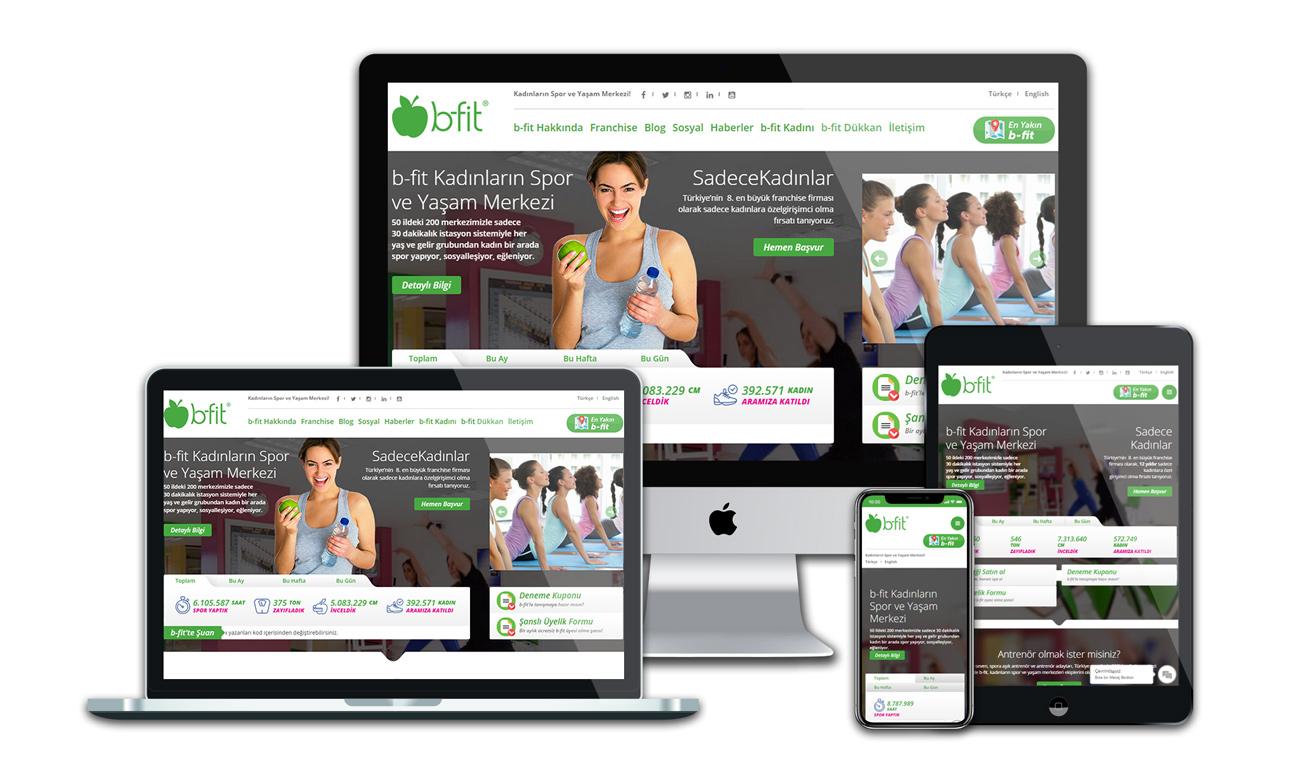 B-fit web sitesi