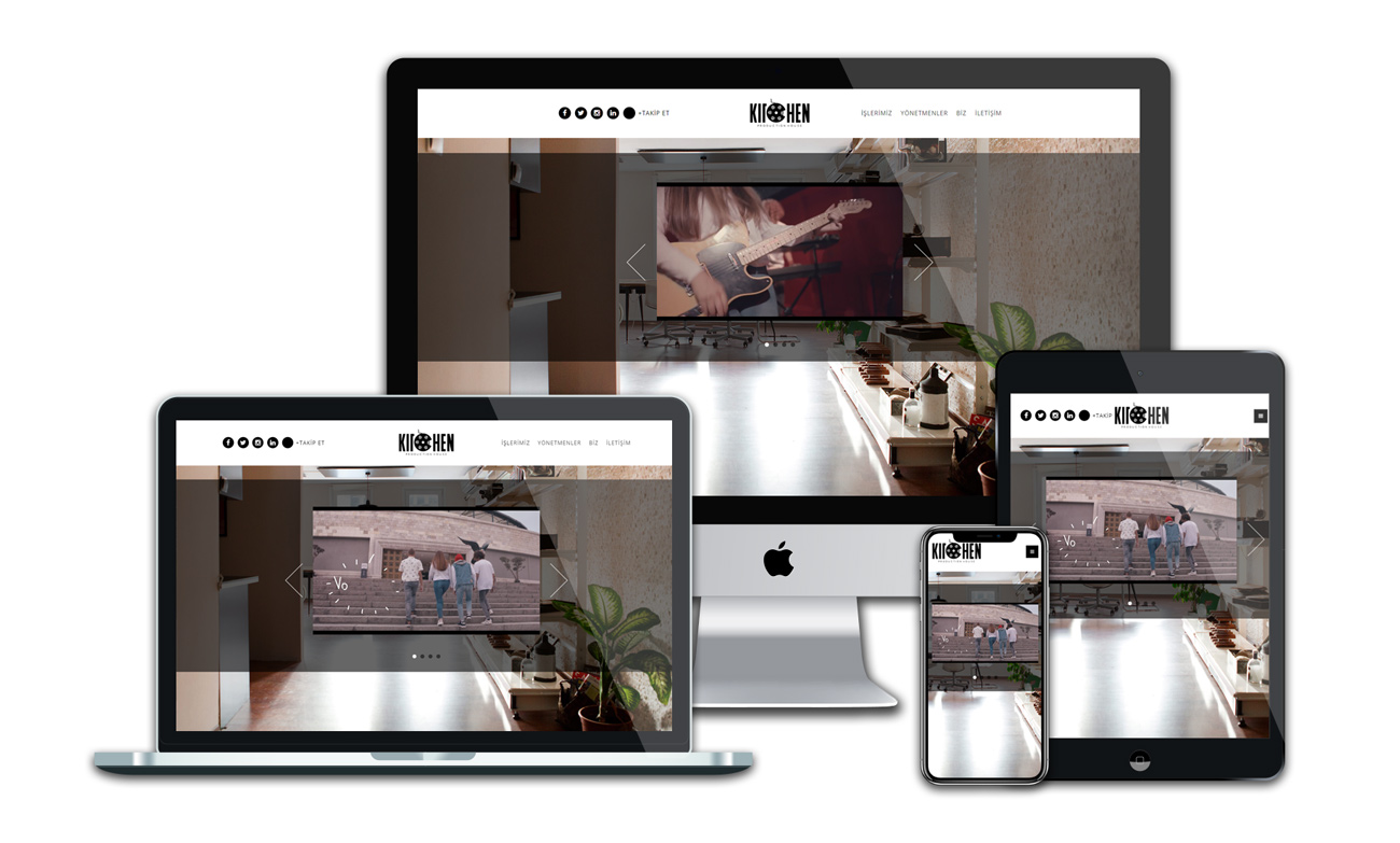 Kitchen Prodüksiyon Web Sitesi
