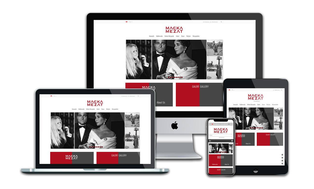 Maçka Mezat web sitesi