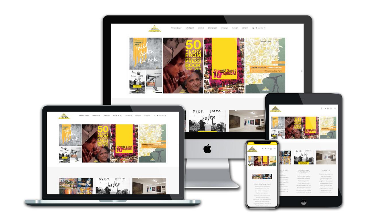Piramid Sanat Web Sitesi